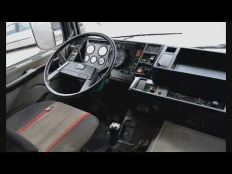 Old T.I.R Volvo F10 F12 Interior