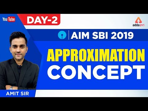 SBI PO 2019 | Approximation Concept | Aim SBI 2019 | Maths