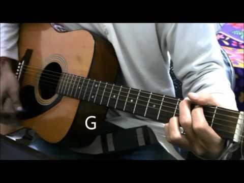 Kabhi Yaadon Mein - Guitar Cover Lesson Easy Chords Beginners - Arijit singh , Palak Muchhal