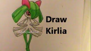 KIRLIA キルリア Draw Pokemon #281 Tutorial