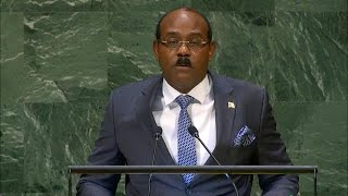🇦🇬 Antigua and Barbuda - Prime Minister Addresses General Debate, 73rd Session