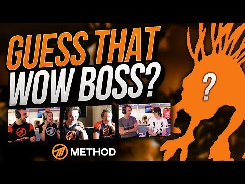 GUESS THAT WORLD OF WARCRAFT BOSS VOICE CHALLENGE