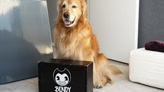 JOEY DREW SENT ME BENDY AND THE INK MACHINE MERCH!!