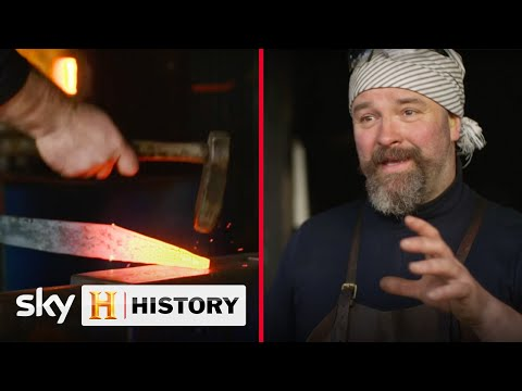 Owen Bush is the master bladesmith tutor | Forged In Britain | Forged in Fire