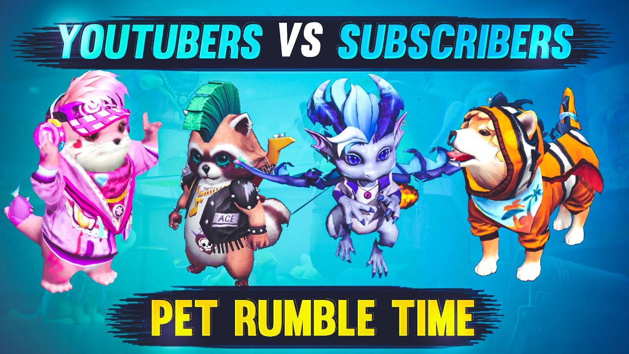 New Mode/New Update - Playing Pet Rumble 1st Time - Better Then US!!!  😂😂 - Dev Alone