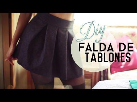 Cómo Hacer tu Propia Falda de Tablones! (Pleated Skirt)