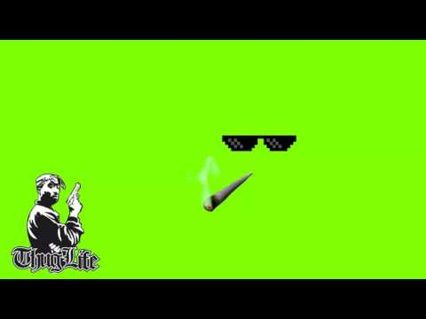 Thug Life   Mini Pack   Green Screen