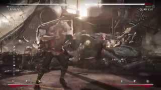 Mortal Kombat X - Kombo de 10 golpes o más
