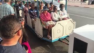 Agadir Morocco tourist train