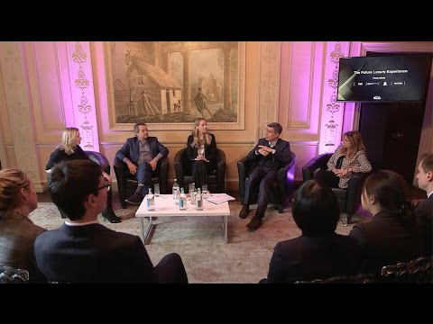 INSIDE THE FUTURE OF LUXURY: The Future Luxury Experience - Panel Debate