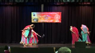 Townsville Onam 2012 dance - Chanthu thottille