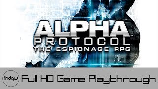 Alpha Protocol - Full Game Playthrough (No Commentary)