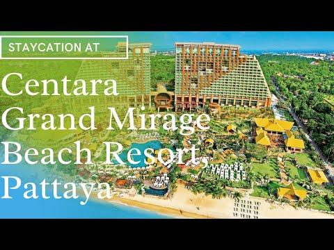 Staycation at the luxurious Centara Grand Mirage Beach Resort, Pattaya