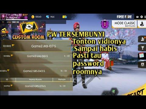 Password tersembunyi CUSTOM ROON GM free fire GRATIS