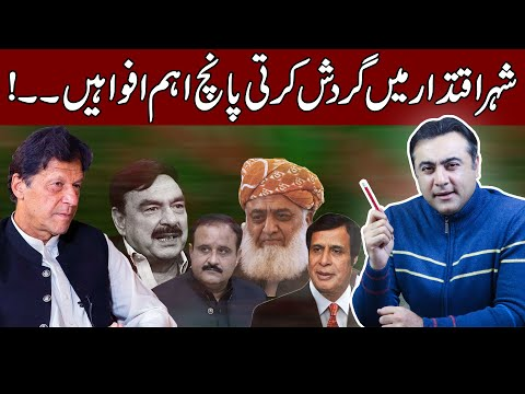 What's going on in power corridors? Five Rumours which can change everything | Mansoor Ali Khan