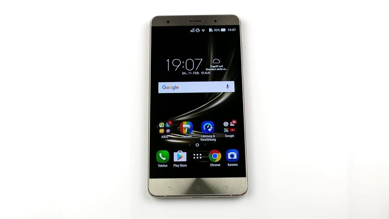Asus Zenfone 3 Deluxe Zs570kl Ui Impressions Youtube