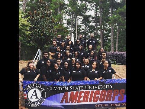 Clayton State University AmeriCorps Program 2015-2016 Video