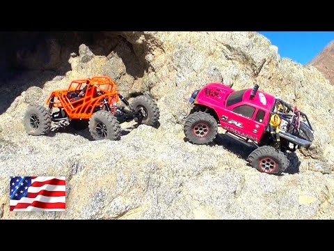 PiNKY & TANGO in the Southern California DESERT  PART 2  RC ADVENTURES
