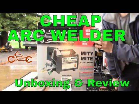 Cheap 115V Arc Welder Review & Test