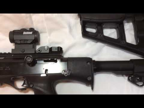 JSARMSCO COM -Hi Point carbine Stock Mod adapter / end plate for AR style  Stock