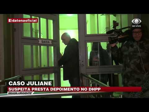 Caso Juliane: Suspeita presta depoimento no DHPP