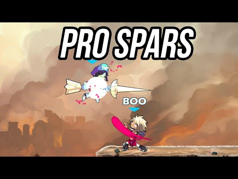 secret pro brawlhalla beastmode spar session between two beasts. learn how to conquer today