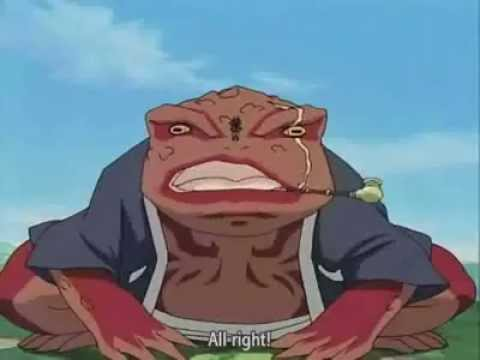 Jiraiya and Gamabunta - YouTube