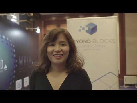 Hope Liu, CEO of Eximchain - Digging Deeper at Beyond Blocks Summit Tokyo 2018.