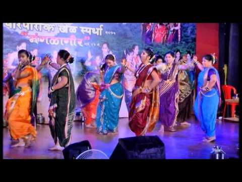 Awesome Mangalagauri Dance by women s of om nagar, vasai