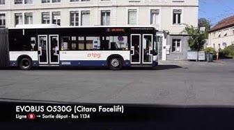 [TPG] EVOBUS O530G (Citaro Facelift) - 1134 - Ligne 9