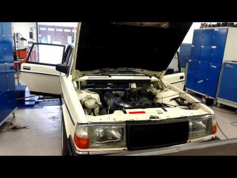 Volvo 240 Turbodiesel dyno D24