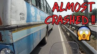Almost Crashed | Chandigarh to Delhi | Himalayan | ROYAL ENFIELD | BS4 | VBO Vlogs | 2018