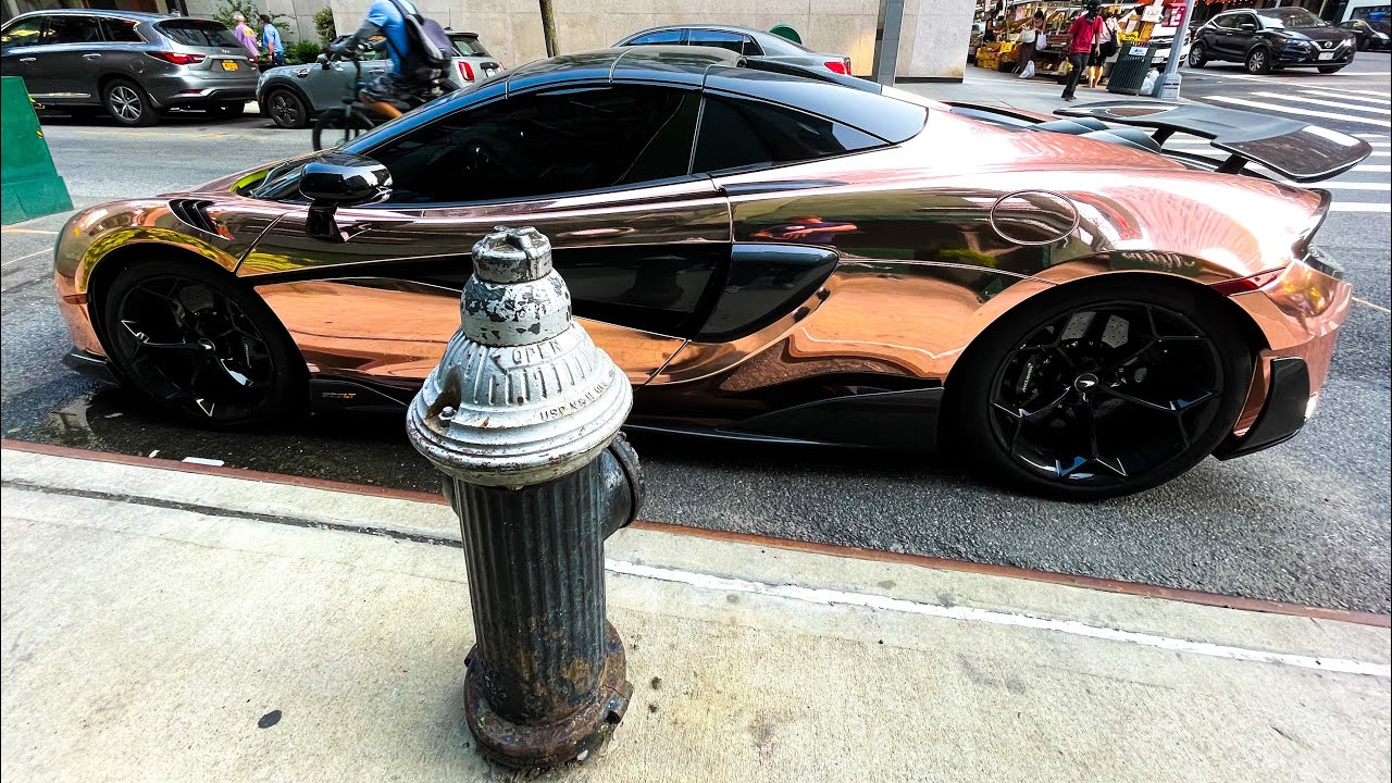 **McLaren Parks On HYDRANT!** SELFISH $256,000 Sports Car Driver Illegally parks on Hydrant