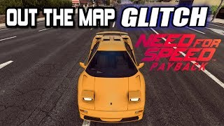 NFS PAYBACK *NEW* OUT OF THE MAP GLITCH 2018!