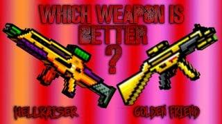 Pixel Gun 3D - Hellraiser VS Golden Friend