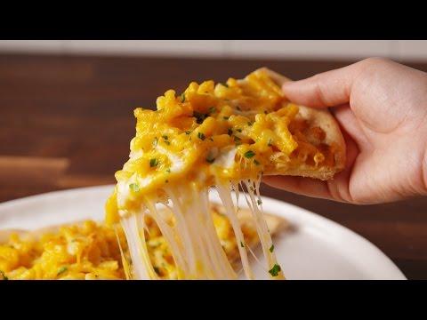 Mac & Cheese Pizza | Delish