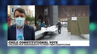 Chileans pick independents to draft new constitution