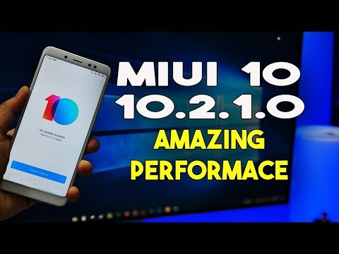 MIUI 10.2.1.0 Stable ROM - Amazing Performace - Redmi Note 5 Pro