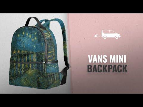 top-10-vans-mini-backpack-[2018]:-ahomy-school-backpack,-van-gogh-starry-night-over-the-rhone