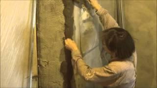 видео штукатурка дверных откосов