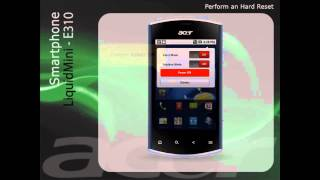 Acer Liquid Mini E310 - Εκτελέστε μια μόνιμη επαναφορά