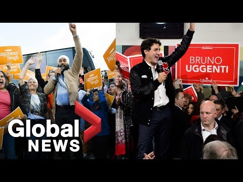 Canada Election: Trudeau Deflects Questions About Idea Of Liberal-NDP Coalition