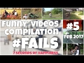 watch he video of 60 seconds compilation of fails #5 Feb 2017 by 7 seconds happiness FUNNY Video 😂