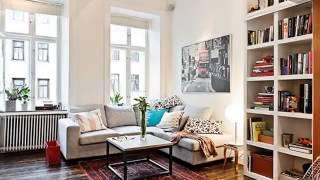 Интерьер маленькой квартиры 38 кв метров Москва недорого косметический под ключ йул15
