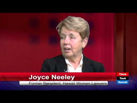 1980's Hawaii Women Lawyers - Joyce Neeley and Dona Hanaike