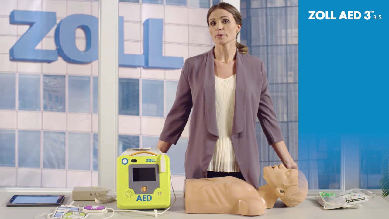 Training for First Responders using the ZOLL AED 3 BLS