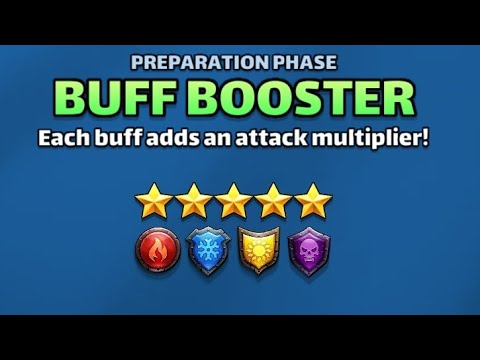 Empires & Puzzles 5☆ Tournament Buff Booster Defence Set Up
