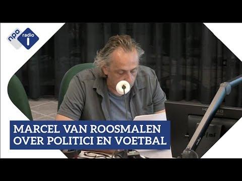 Marcel van Roosmalen over politici die voetbalwedstrijden analyseren | NPO Radio 1
