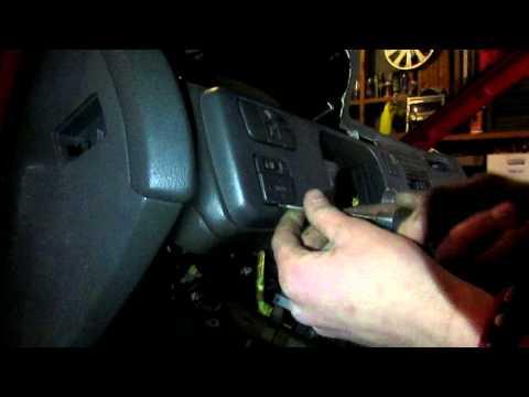 92-95 Honda Civic Dash Removal