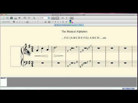 Music Theory Fundamentals 3: Pitch
